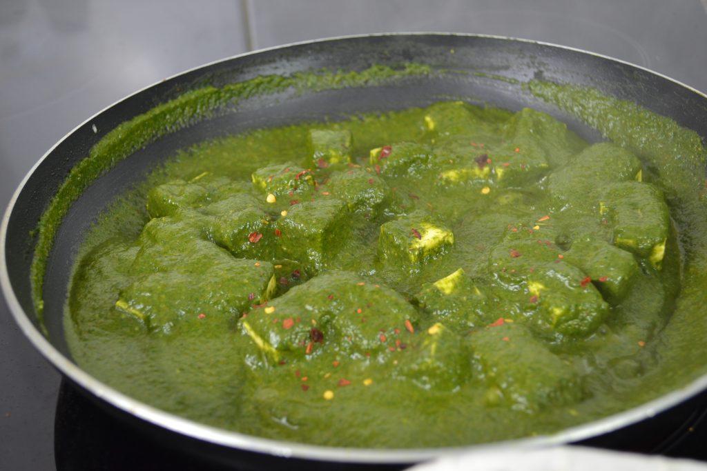 Palak Paneer Recipe Step by Step Photo