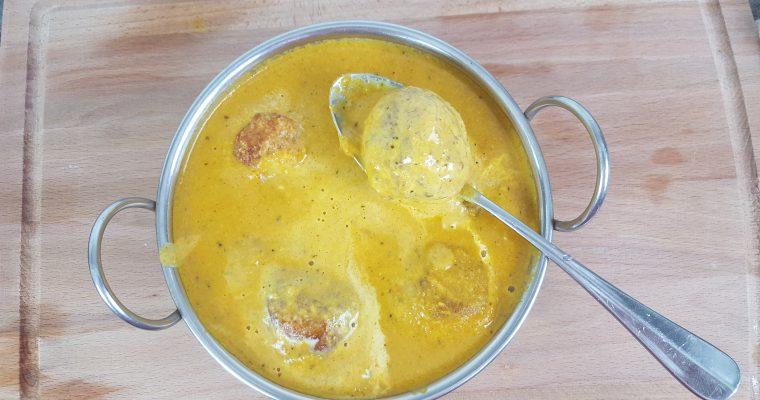Malai Kofta | Potato & Paneer Fritters in Tomato Gravy