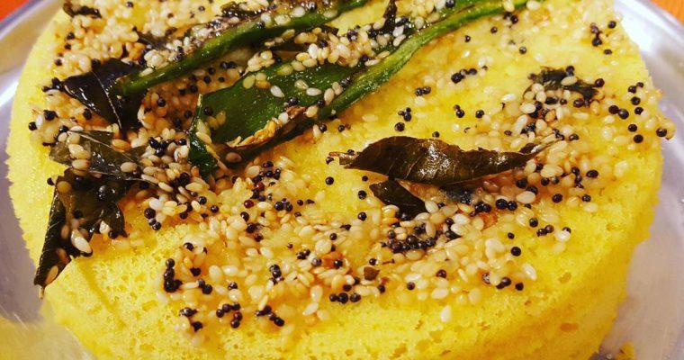 Tasty and Simple Dhokla Recipe | Vegan Savoury Indian Snack