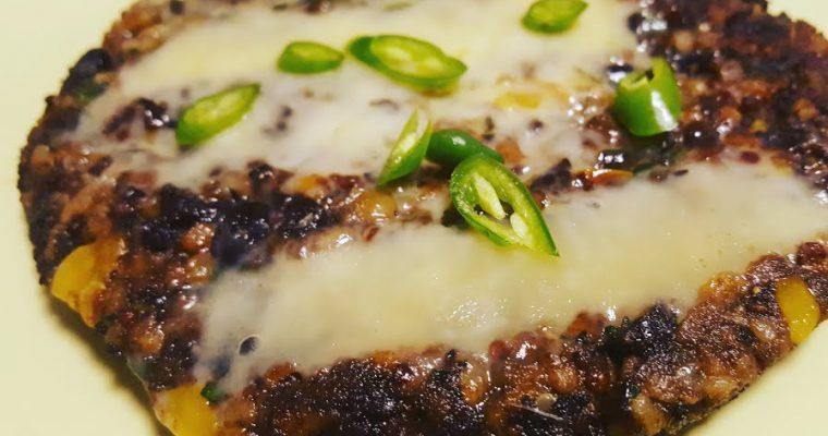 Vegan Quinoa Black Bean Burger Recipe