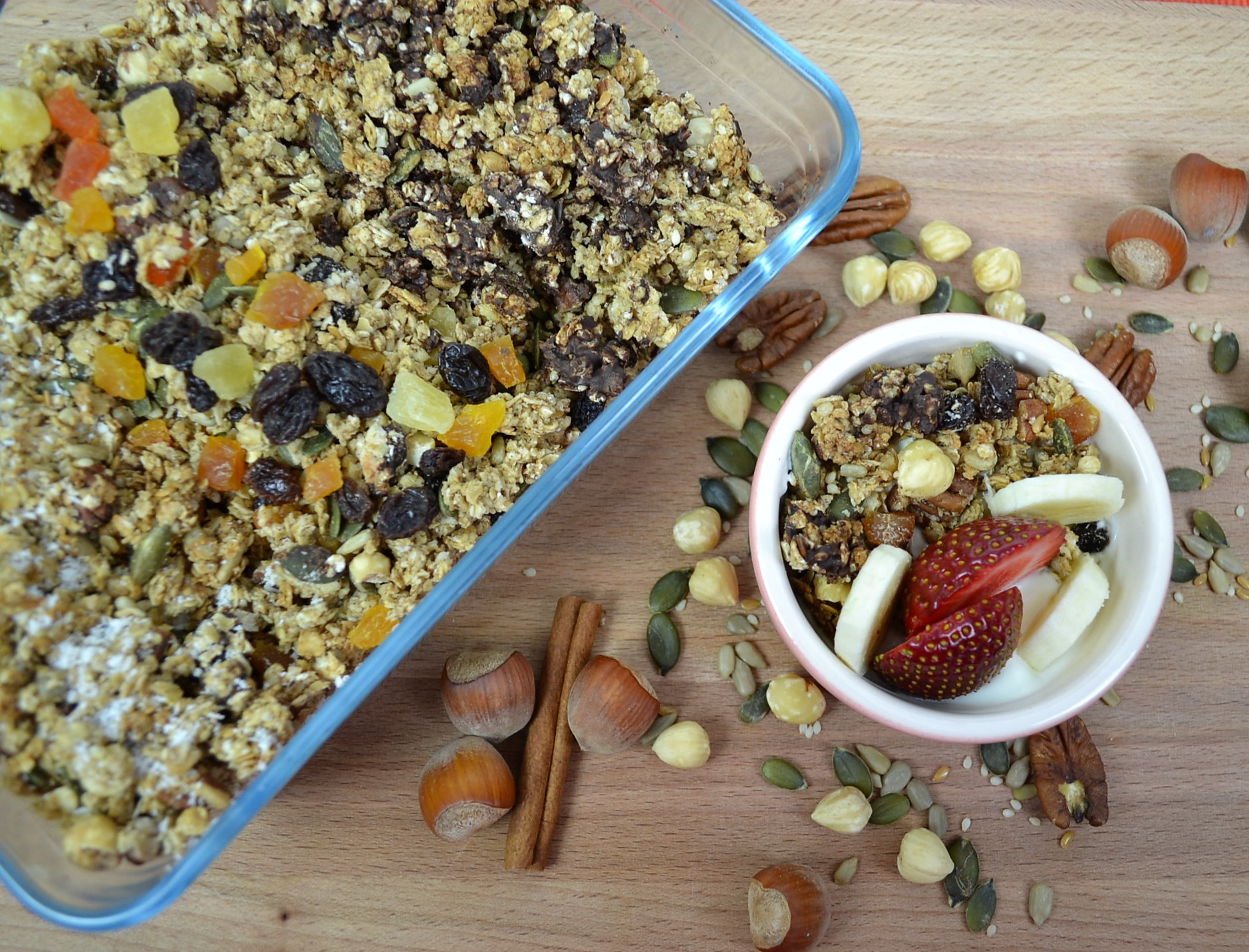 Pecan and Hazelnut Granola Recipe