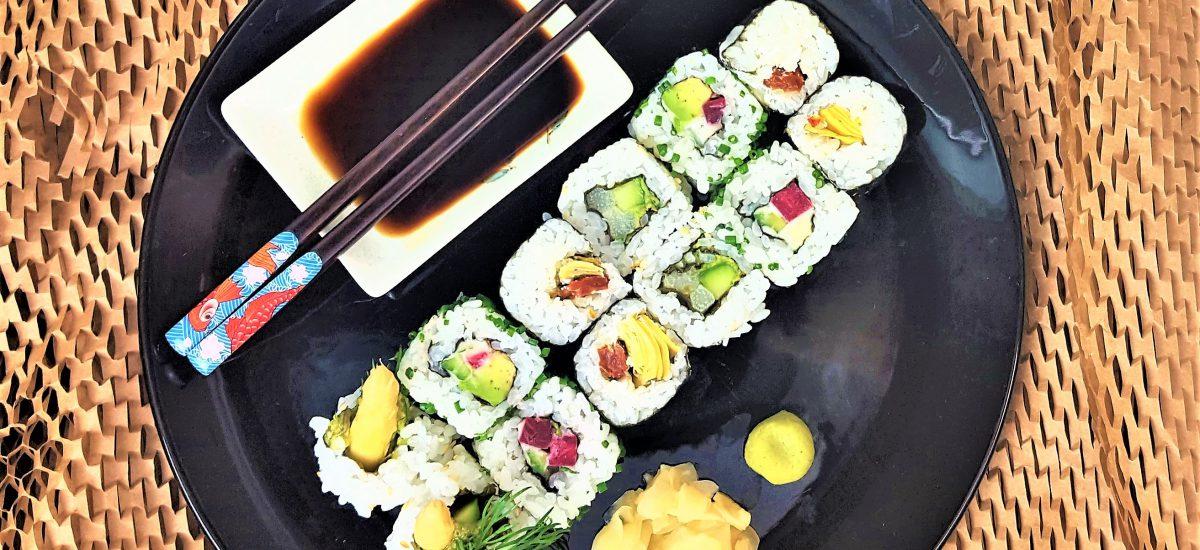 Vegetarian Sushi Rolls Recipes to Make at Home