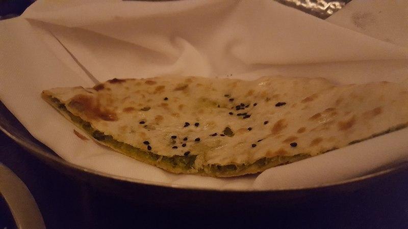 Peshawari Stuffed Kulcha - Javamar London Review
