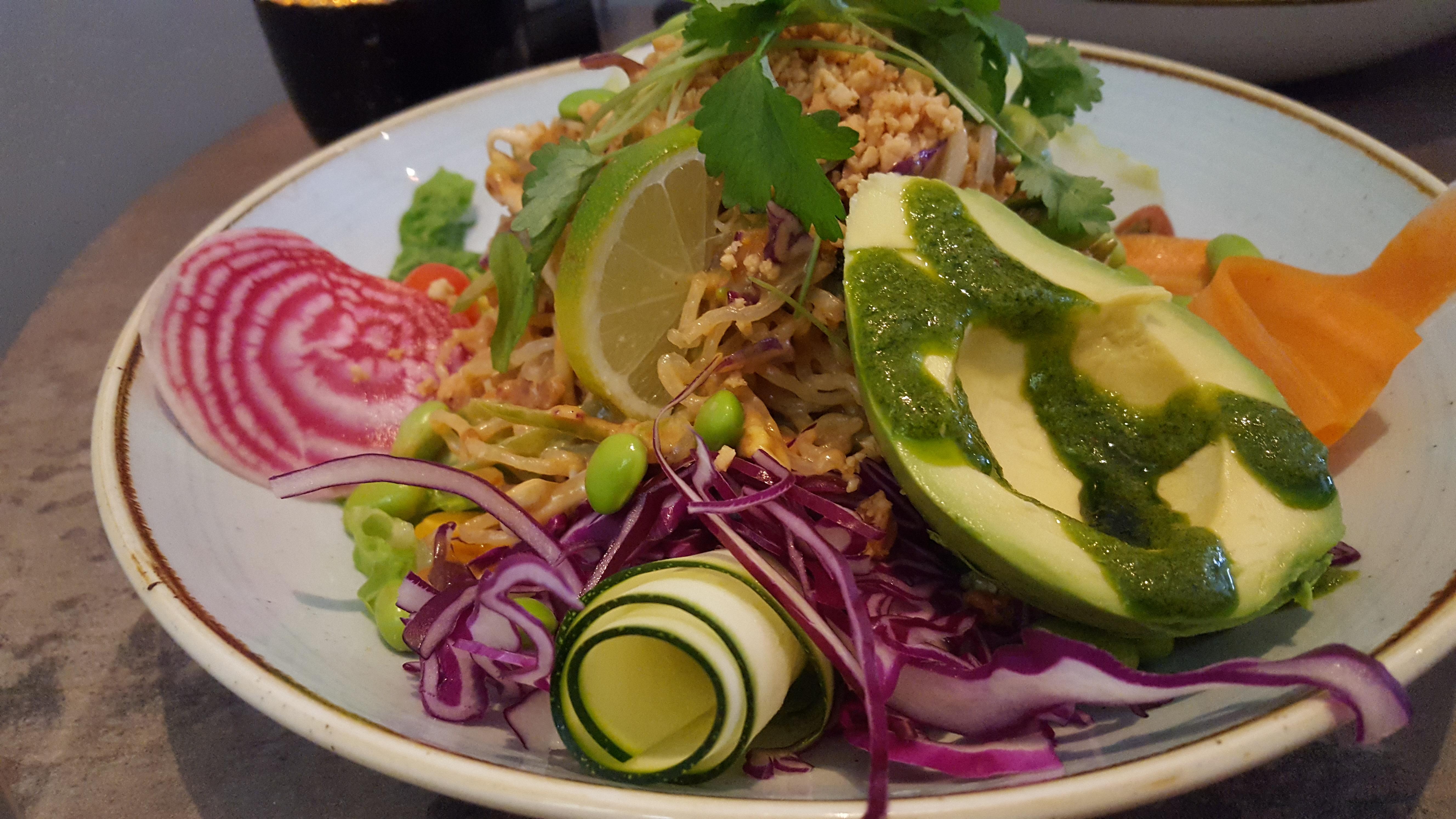 Raw Food Pad Thai - Lilla Ekot   Vegetarian Food in Stockholm Visit Stockholm dontask4salt
