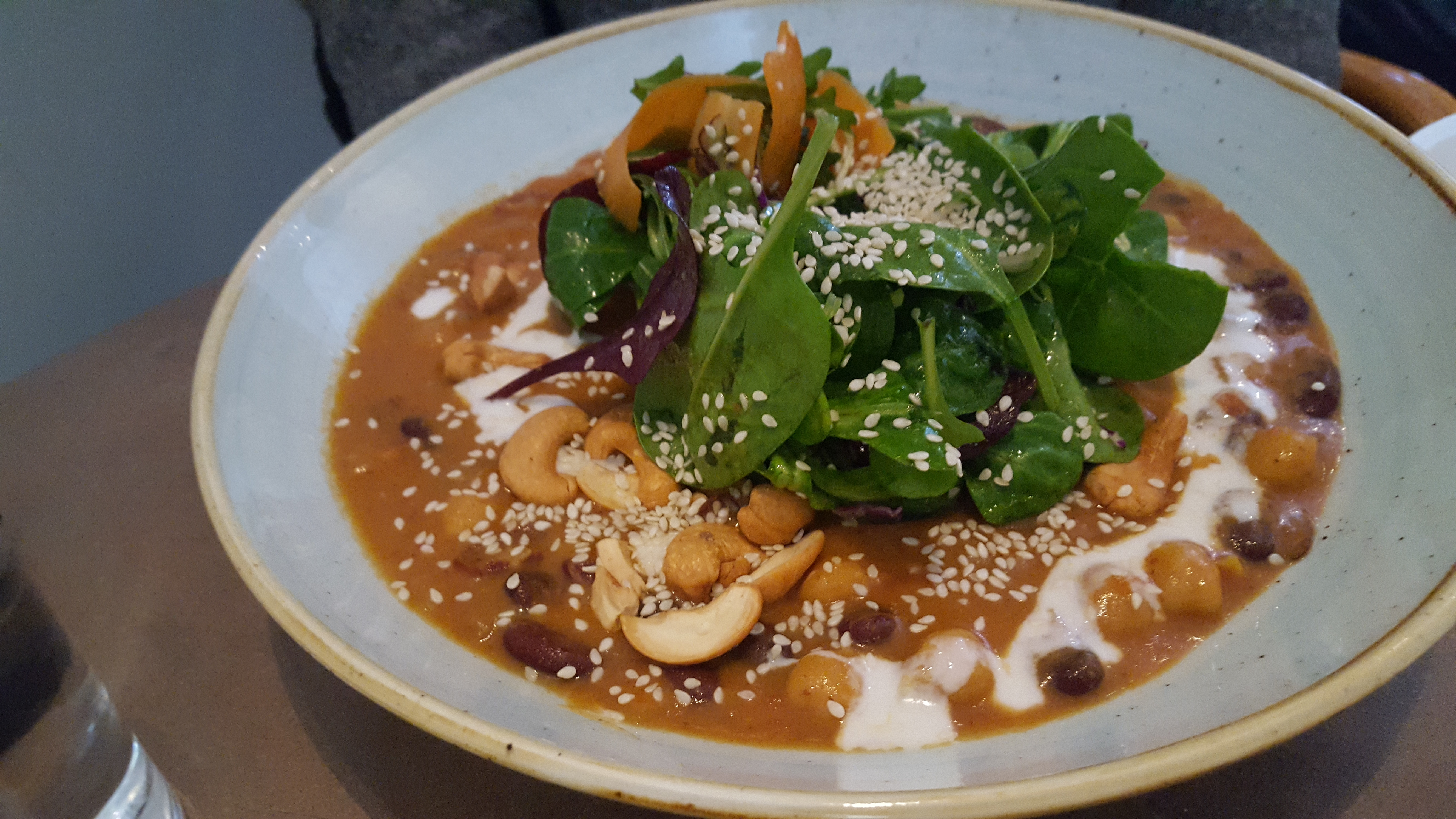 Red Kidney Bean Soup - Lilla Ekot   Vegetarian Food in Stockholm Visit Stockholm dontask4salt