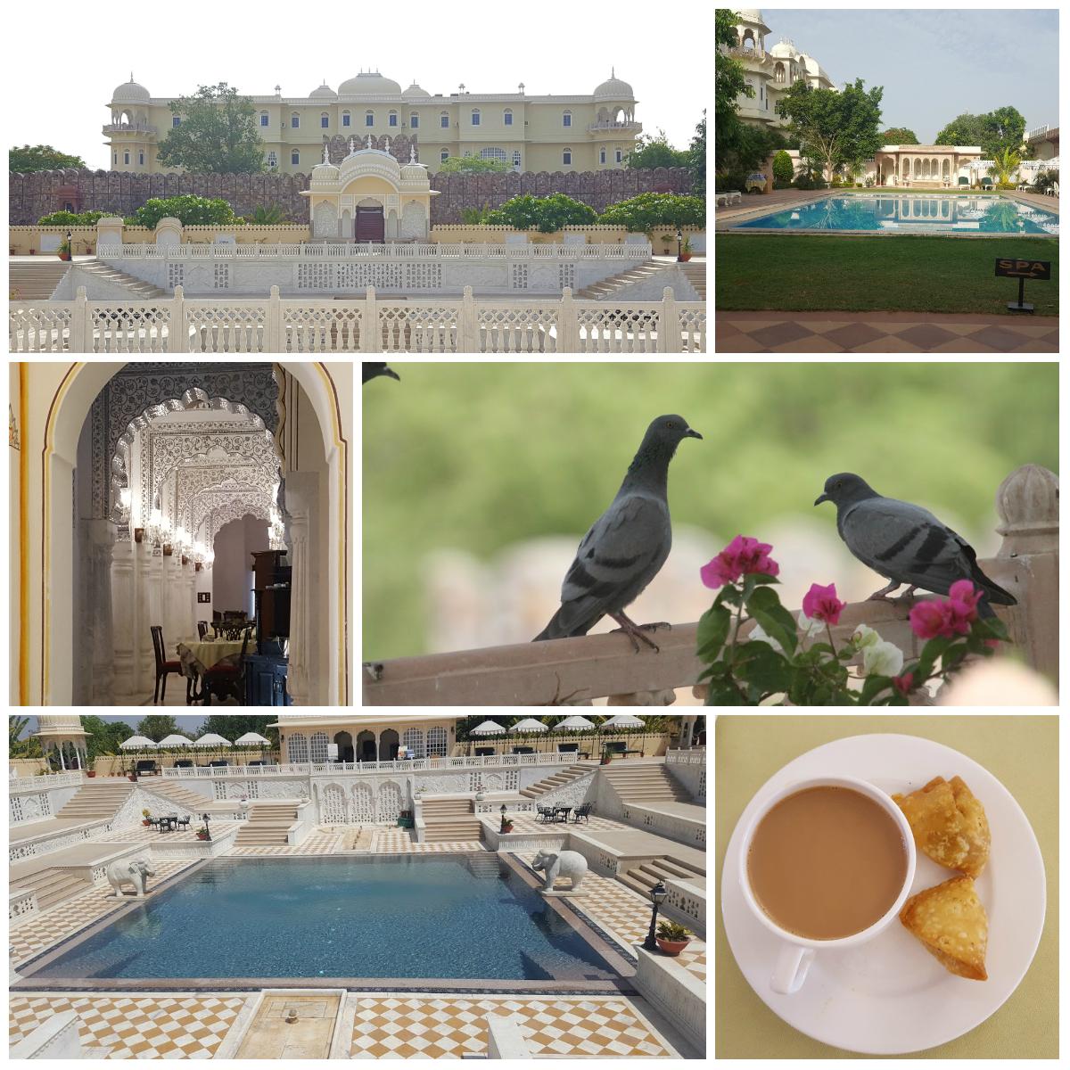 Nahagarh Ranthambore Hotel, Sawai Madhopur, Rajasthan, India
