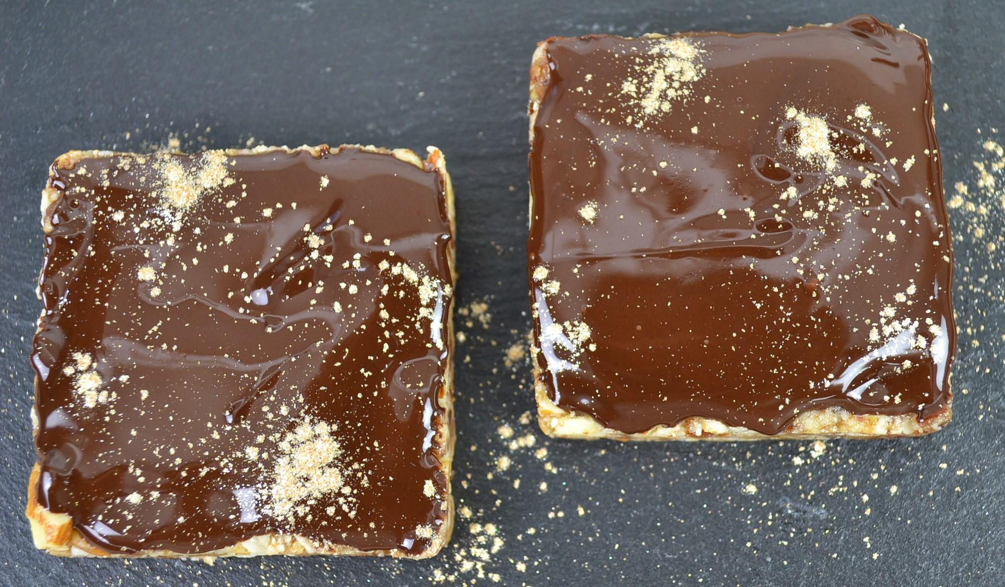Cardamom and Almond Chocolate Vegan Bars
